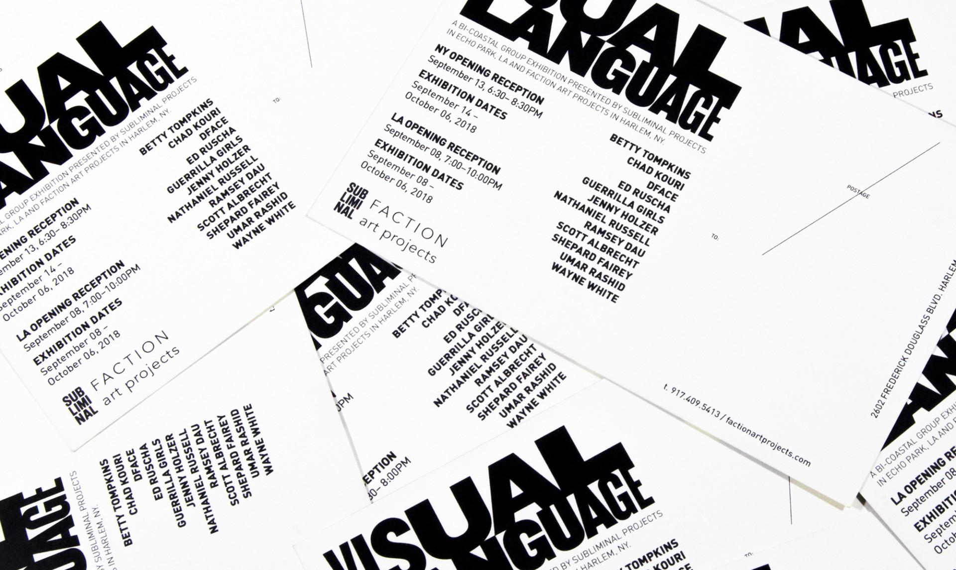 David Jimenez Visual Language